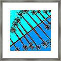 Trees And Reflections Framed Print