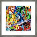 Trey Kandinsky  Framed Print