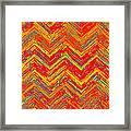 Tribal Pattern 019 Framed Print