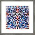 Tribal Symmetry 1 Framed Print