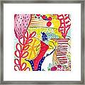 Tropical Abstract Framed Print