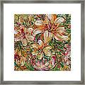 Tropical Beauties Framed Print