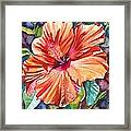 Tropical Hibiscus 5 Framed Print