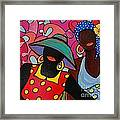 Tropical Sisters Framed Print