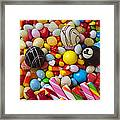 Truffles And Assorted Candy Framed Print