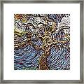 Trunk Of A Tree Framed Print