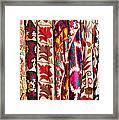 Turkish Textiles 02 Framed Print