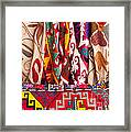 Turkish Textiles 03 Framed Print