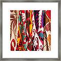 Turkish Textiles 04 Framed Print