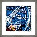 Turn Gas Off Framed Print by Phil 'motography' Clark