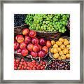 Tuscan Fruit Framed Print