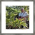 Tw Self Portrait Framed Print