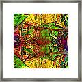 Twin Souls Framed Print