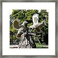 Two Doves  Framed Print