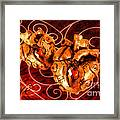 Two Hearts Framed Print
