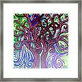 Two Trees Twining Framed Print