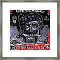 Under The Black Flag Poster 1916 Color Added 2013 Framed Print