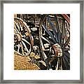 Unequal Wheels Framed Print
