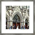 Uninvited But Welcome Framed Print