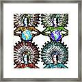 Unity-love-peace In This World Framed Print