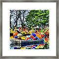 Up The Creek Without A Paddle Framed Print