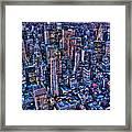 Upper East Side Skyline Framed Print