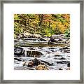 Upstream Framed Print by JC Findley