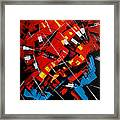 Urban Communication Framed Print
