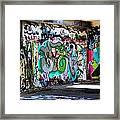 Urban Serpent Framed Print