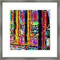 Urban Sprawl - 7d14097 Framed Print by Wingsdomain Art and Photography