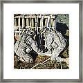 U.s. Army Europe Soldiers Perform Framed Print