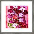 Valentine Flowers For You Framed Print