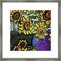 Van Gogh Sunflowers Cover Framed Print