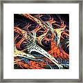 Vascular Plant Framed Print