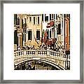 Vegas Or Venice Framed Print