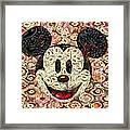 Veggie Mickey Mouse Framed Print