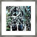 Veil Lifted Framed Print