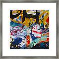 Venice Abstraction 1 Framed Print