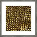 Vertical City Framed Print