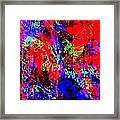 Vibrance Personified Into A Physical Object Framed Print