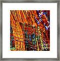 Vibrations Digital Guitar Art Bt Steven Langston Framed Print by Steven Lebron Langston