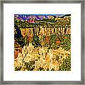 View From Angel Point  Framed Print