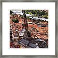 View Of Heidelberg Framed Print