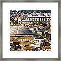 View Of Rome's Rooftops Framed Print