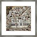 View Of The City De Damascus, Syrian Framed Print