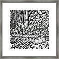 Viking Ship Framed Print