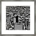 Vintage Seattle Framed Print
