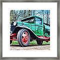 Vintage Tanker 1 Framed Print
