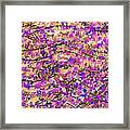 Violet and Sepia Abstract Background Framed Print