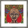 Visionary Gandhi Framed Print
